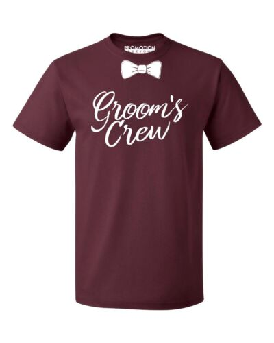 Groom/'s Crew Wedding Bachelor Party Men/'s T-shirt
