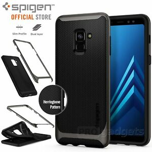 online retailer 9d407 f4a7f Details about Galaxy A8 2018 Case, Genuine SPIGEN Dual Layer Neo Hybrid  Cover for Samsung