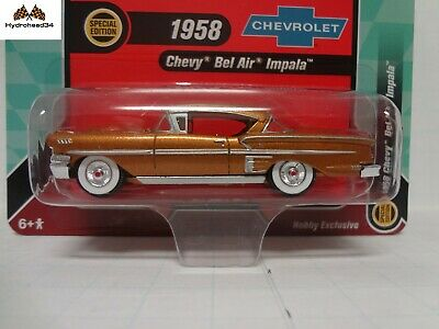 1958 Chevrolet Impala Bel Air  Mint Türkis *RR* Racing Champions Hobby 1:64 OVP