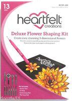 Heartfelt Creations Deluxe Flower Shaping Kit Hcst1-401 Free Ship U.s. Create 3d