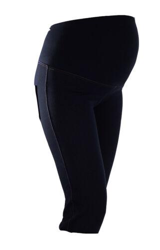 NEU Capri 3//4 Umstandshose Jeggings Jeans Hose S M L