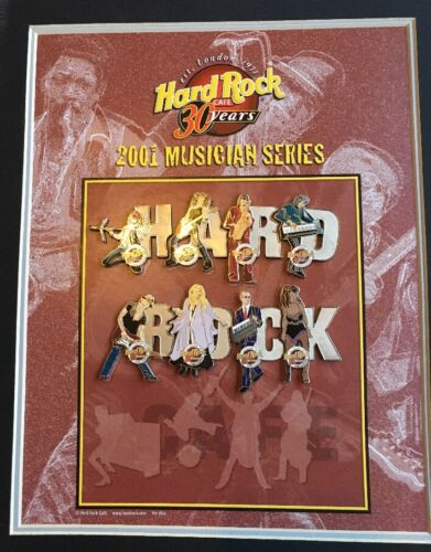 """Limited Edition"" Hard Rock Cafe 30 Years 2001 Musician Series Orlando"