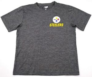 e9428fa76 Image is loading NFL-Team-Apparel-TX3-Cool-Pittsburgh-Steelers-Men-