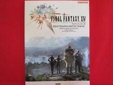 Final Fantasy XIV 14 'FIELD TRACKS & BATTLE TRACKS' Piano Sheet Music Book