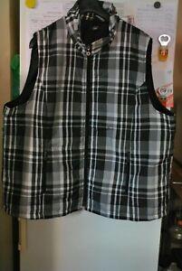 new styles 8f341 6bb91 Details zu Große Größen Damen Weste Steppweste Schwarz Weiß Gr: 50