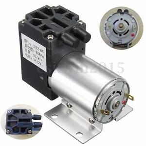 DC12V Mini Vacuum Pump Negative Pressure Suction Pump 5L/min 120kpa With Holder