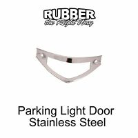 1951 1952 Ford Truck Parking Light Door - Stainless Steel