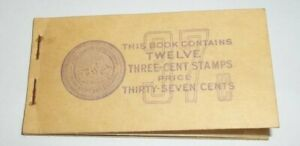 1938-Thomas-Jefferson-Three-Cent-Stamps-A-Book-W-3-Three-Cent-Stamps