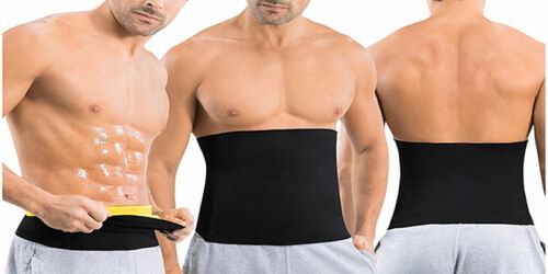 Männer Extreme Thermal Body Shaper Taille Trainer Cincher Power Belt Sweat SF8