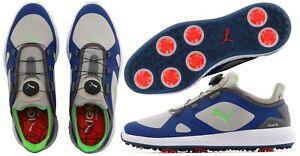 Puma-Golf-Ignite-PWR-Adapt-Disc-BOA-Golf-Shoes-RRP-120-ALL-SIZES-Grey-Blue