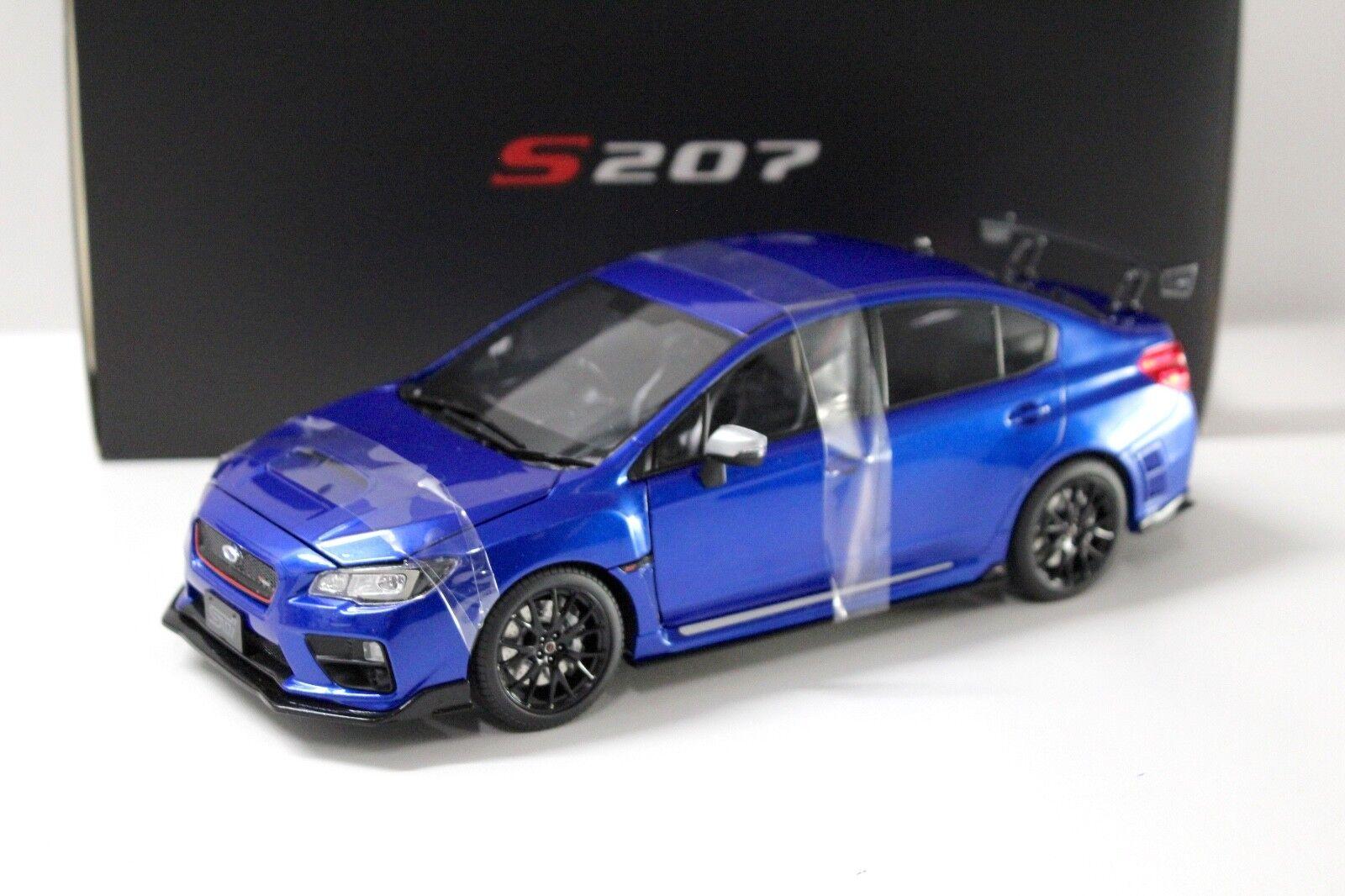 Obtén lo ultimo 1 18 SunEstrella subaru subaru subaru s207 NBR Challenge package azul New en Premium-modelCoches  barato