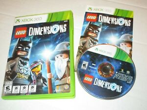 XBOX 360 LEGO DIMENSIONS VIDEO GAME COMPLETE CASE MANUAL ...Xbox 360 Game Cover Dimensions