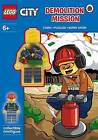 LEGO City: Demolition Mission Activity Book with Minifigure by Penguin Books Ltd (Paperback, 2015)