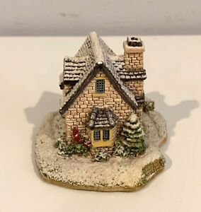 Lilliput Lane Chestnut Cottage Christmas Collection 1992
