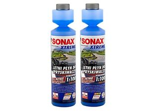 2x NEU SONAX XTREME Scheiben Reiniger 1:100 NanoPro Konzentrat 250ml PAR 271141