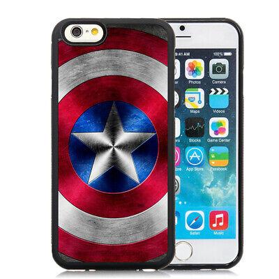 Captain America Shield Superhero Case Cover for iPhone XR XS Max 7 8 Plus 11 12   eBay