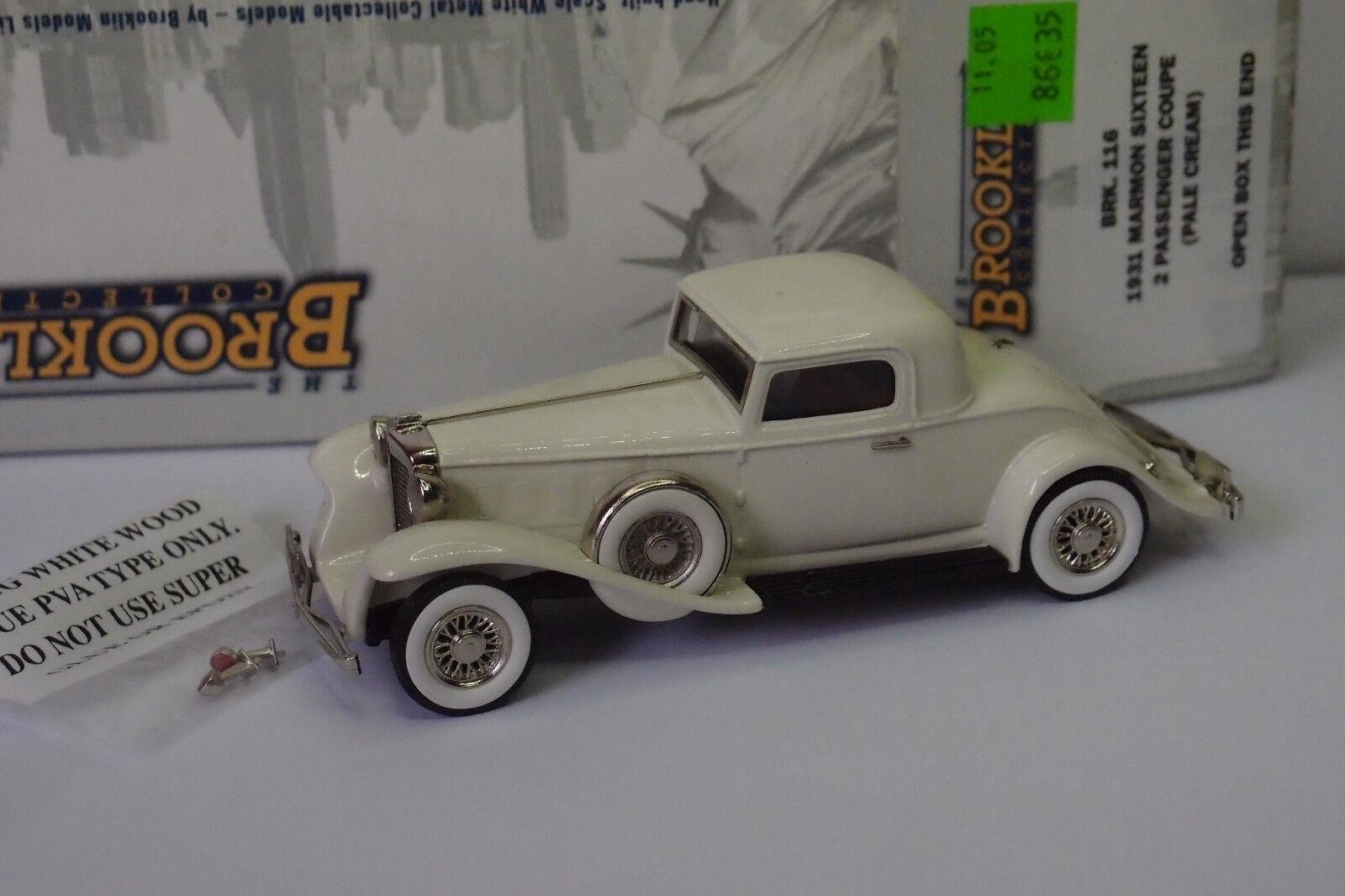 Brooklin brk - 116 1931 marmon 16 2 - coupé aus sahne 1   43