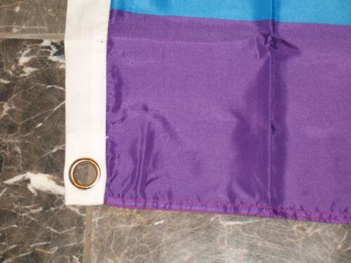 3x5 New Glory Rainbow Gay Lesbian Triangle Flag 3/'x5/' Banner Brass Grommets