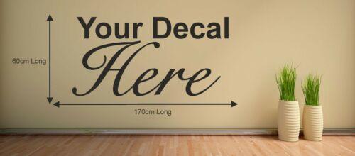 Personnalisé logo imprimé Autocollant Business Bureau mur fenêtre de conception de votre propre