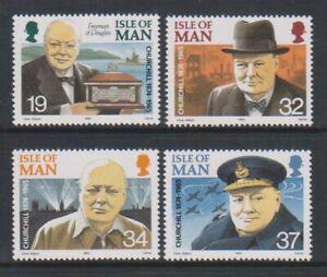 Isle-von-Mann-1990-Winston-Churchill-Set-MNH-Sg-455-8