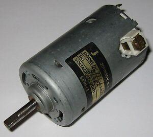Johnson-220-VDC-Electric-Motor-220VDC-12-Pole-DC-Hobby-Project-Generator