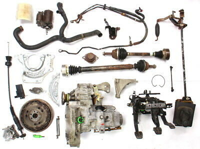 Manual Transmission Swap Parts Kit VW Jetta GTI Cabrio MK3 5 Speed 2 0 ABA  DFQ | eBay