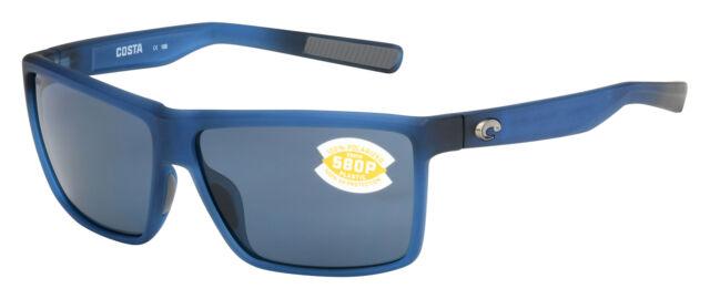 1f9b6b7623 Costa Del Mar Rinconcito Polarized Sunglasses Matte Blue Gray 580p ...