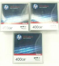 HP C7972A LTO-2 Ultrium Data Cartridge 400GB lot of 5 tapes