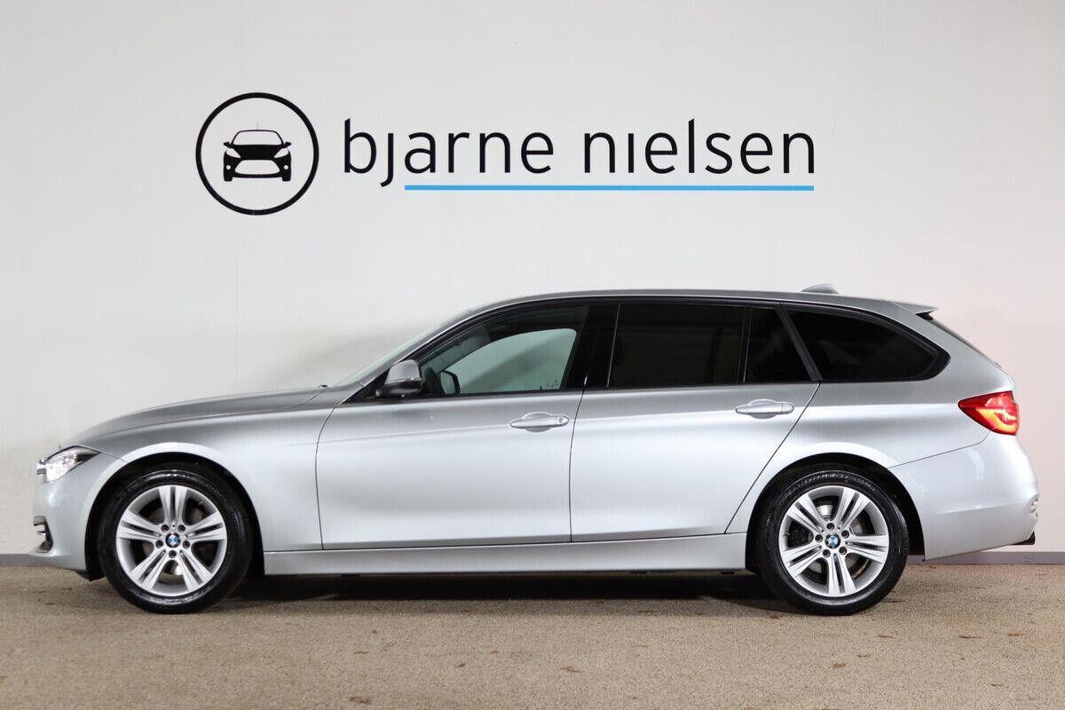 BMW 320d 2,0 Touring Sport Line aut. - billede 1