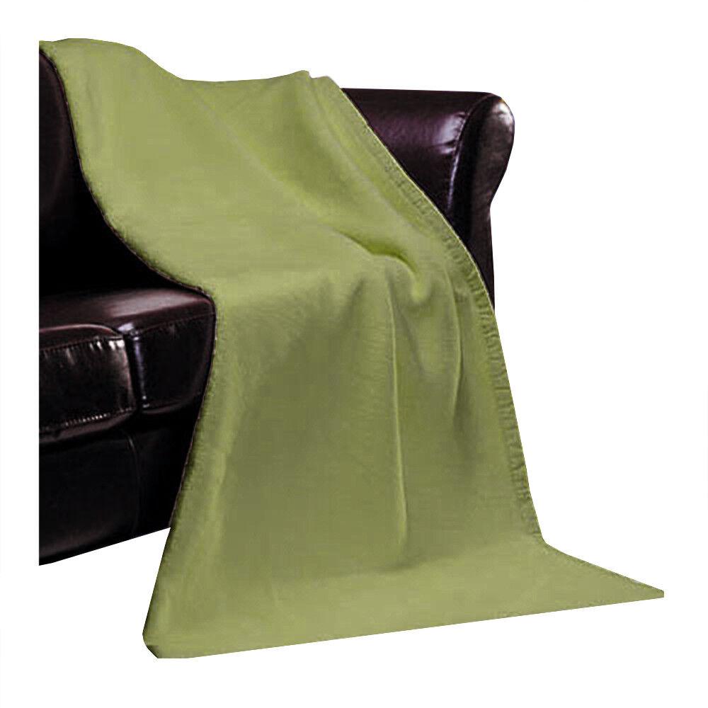 Ibene manta oslo monocromática 150 x 200 cm bio-algodón