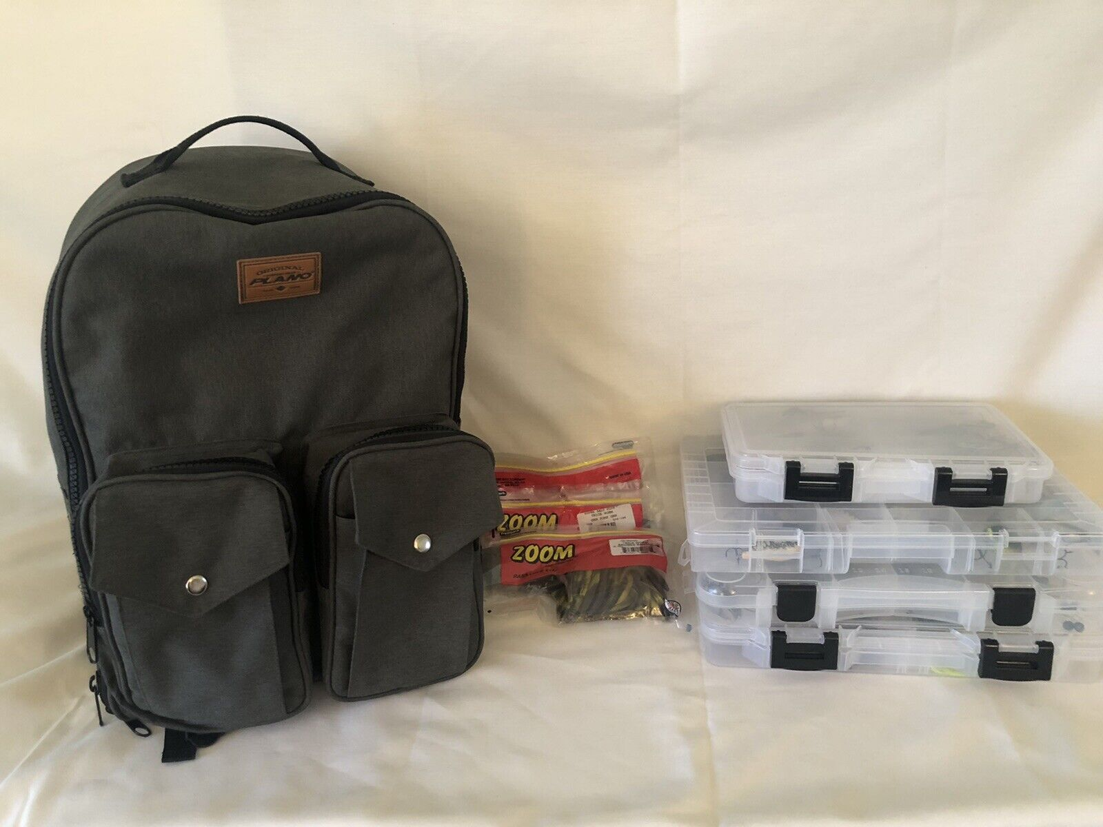 Plano Tackle Backpack Loaded with Fishing Lures and More