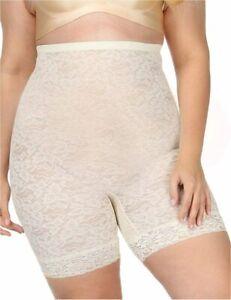 FeelinGirl Women's Smooth Shapewear High-Waist Thigh, Cream-plus, Size 3.0 yhwJ