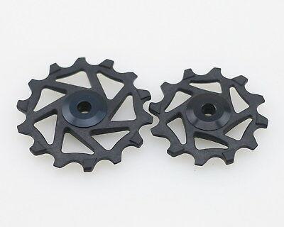 J/&L 12T+14T Ceramic Derailleur Pulley//Jockey For Shimano R9100,R8000,R9150,R8050