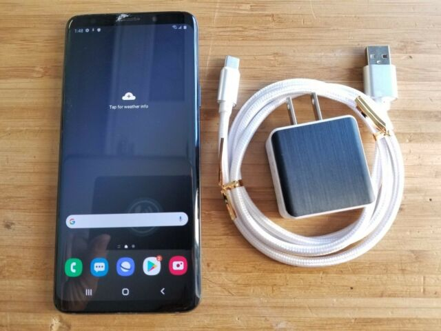 SAMSUNG Galaxy S9 Plus -  SM-G965W - 64GB - Grey - UNLOCKED  (item#313)