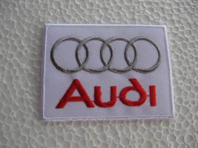 2x Aufnäher Patch Audi Motorsport Racing Auto-Tuning Autosport Autocross Race GT