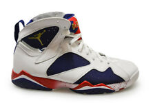 Hommes Nike Air Jordan 7 Retro Olyimpic Alternative - 304775 123 - Blanc Bleu Re