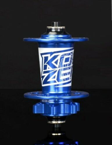 KOOZER Front Hub 32H MTB Bike disc brake Hubs 100*9//100*15 Thru Axle QR Blue