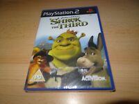 PS2 Shrek The Third   Sony Factory Sealed new uk  pal version