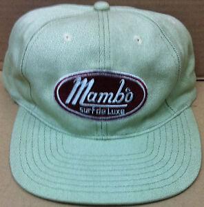 415de8d8573 Vintage retro 90 s light green Mambo USA surf street wear ZZ Top ...