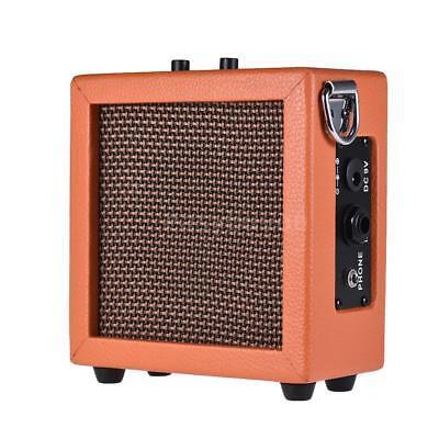 battery powered mini guitar bass ukulele ukelele amp amplifier speaker e6s3 ebay. Black Bedroom Furniture Sets. Home Design Ideas
