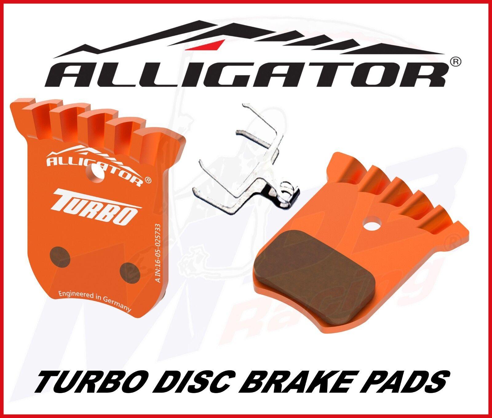 Alligator turbo balatas para Shimano dura ace br-r8070-f br-r9170-r (60) (60) (60) e6684d