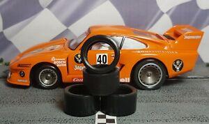 "/""XPG/"" URETHANE SLOT CAR TIRES 2pr XPG-20125LM fits Slot.it Lola LMP"