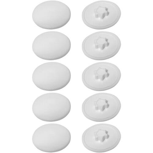 10x Screw caps covers TORX T10 to 40 head push fit furniture quality plastic cap
