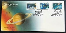 Malaysia 1994 National Planetarium 3v Stamps FDC (KL Cancellation) Best Buy Lot
