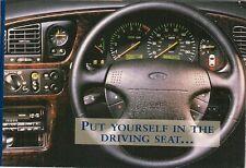 Ford 1995 UK Market Sales Brochure Fiesta Escort Mondeo Probe Scorpio Galaxy