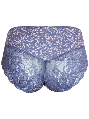 Ex Store Lilac and Pink Brazilian Knickers Size 14