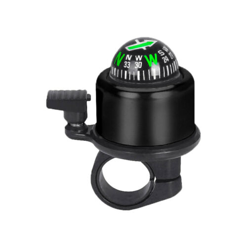 Durable Cycling Alarm Warning Ring-Down Horn Bike Bicycle Bell with Compass