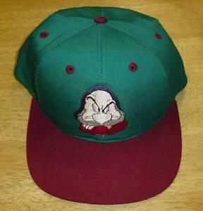 22f2bdedba1 Grumpy hat VINTAGE Youth Kids Snapback hat 90 s LAST1 Disney Snow ...