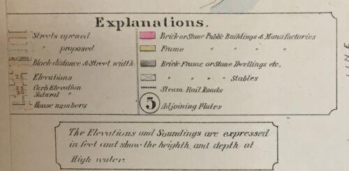 1888 PHILADELPHIA BUSTLETON LAGRANGE /& VERREEVILLE PENNSYLVANIA PLAT ATLAS MAP