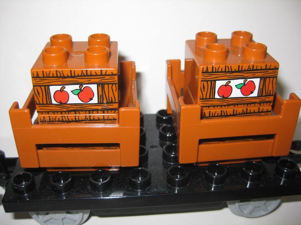 Lego Duplo, Godsvogne til tog